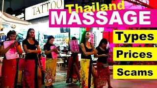 Massage types and prices in Thailand & scams to avoid #livelovethailand