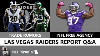 Raiders Trade Rumors: Jamal Adams vs. Jalen Ramsey + Raiders Free Agency Rumors: Clowney vs. Griffen
