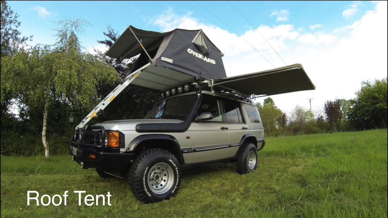 Our Roof Tent how it works go to 308 | C&ing Stuff Barbara - YouTube : roof tent land rover - memphite.com