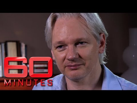 Wikileaks founder Julian Assange talks about escaping embassy | 60 Minutes Australia