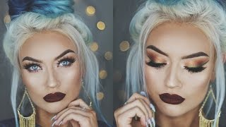 CHRISTMAS GLAM Holiday Makeup Tutorial