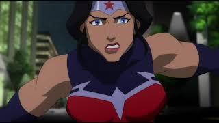 Лига справедливости: Война (2014) Вся команда в сборе