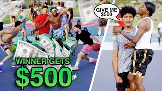 Random Hooper Hits Game Winner On Us!! $500 On The Line!