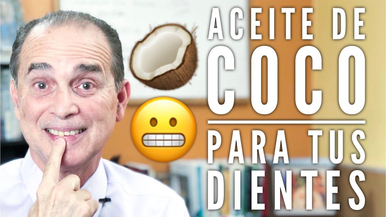 Episodio 1449 Aceite De Coco Para Tus Dientes Youtube