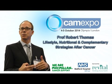 Prof Robert Thomas Speaking at the CamExpo Conference in Olympia 2014
