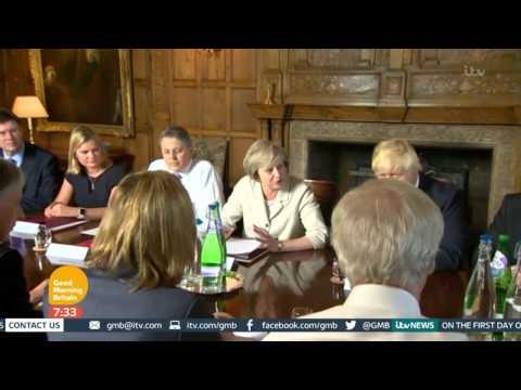 Theresa May To Hold Talks With Donald Tusk | Good Morning Britain