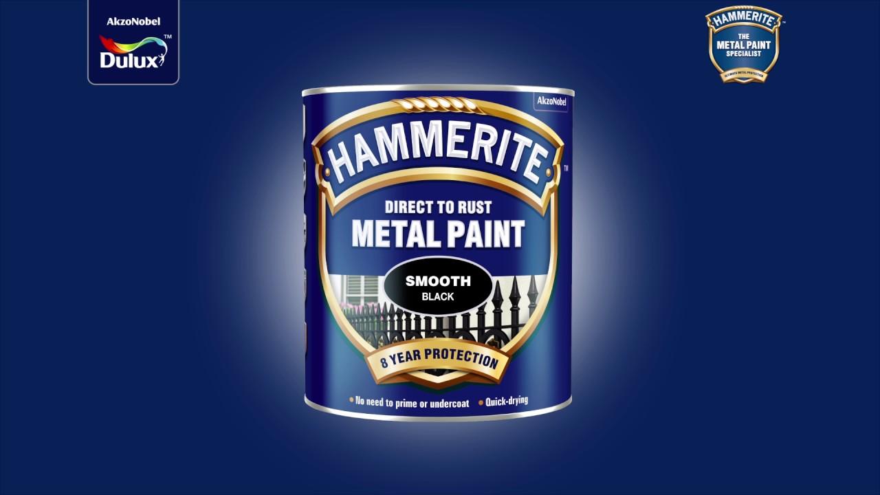 Hammerite - DualTech protection - YouTube