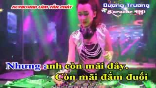 Karaoke Nhạc Sống DJ Đợi Em Trong Mơ
