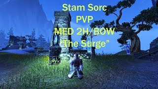 Elder Scrolls  Online Stam Sorc build+Game play