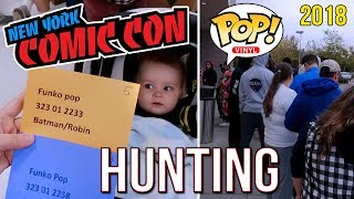 NYCC 2018 Funko POP Hunting and More! - Flippers, Misses and Target Con!