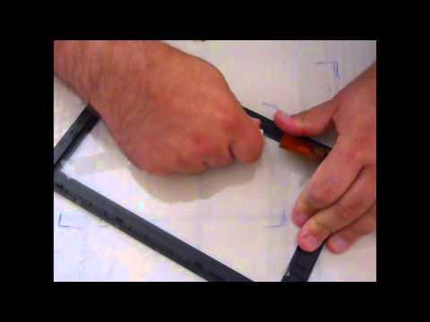 changement r paration comment d coller un cran tactile d 39 une tablette youtube. Black Bedroom Furniture Sets. Home Design Ideas