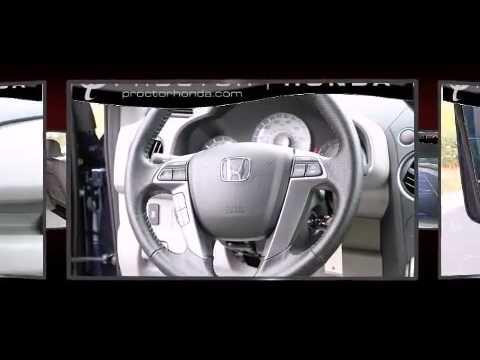 2013 Honda Pilot EX-L DVD Rear Entertainment System