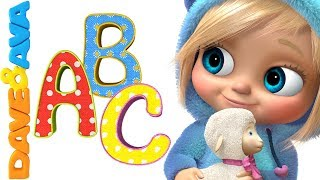 📚ABC Song | ABC Songs for Kids | Alphabet Song | Nursery Rhymes and Baby Songs from Dave and Ava📕