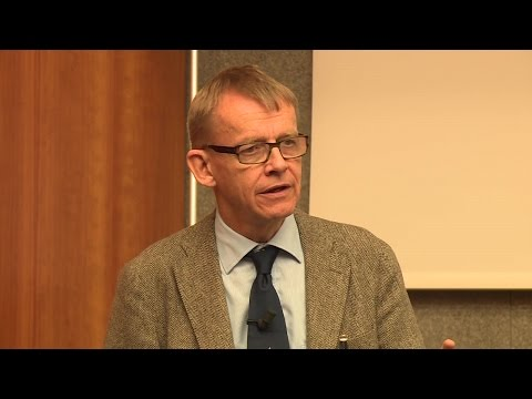 Hans Rosling's presentation at the WTO