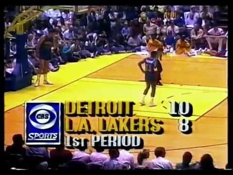 1988 Final NBA Playoffs - Game 6 / Lakers - Pistons