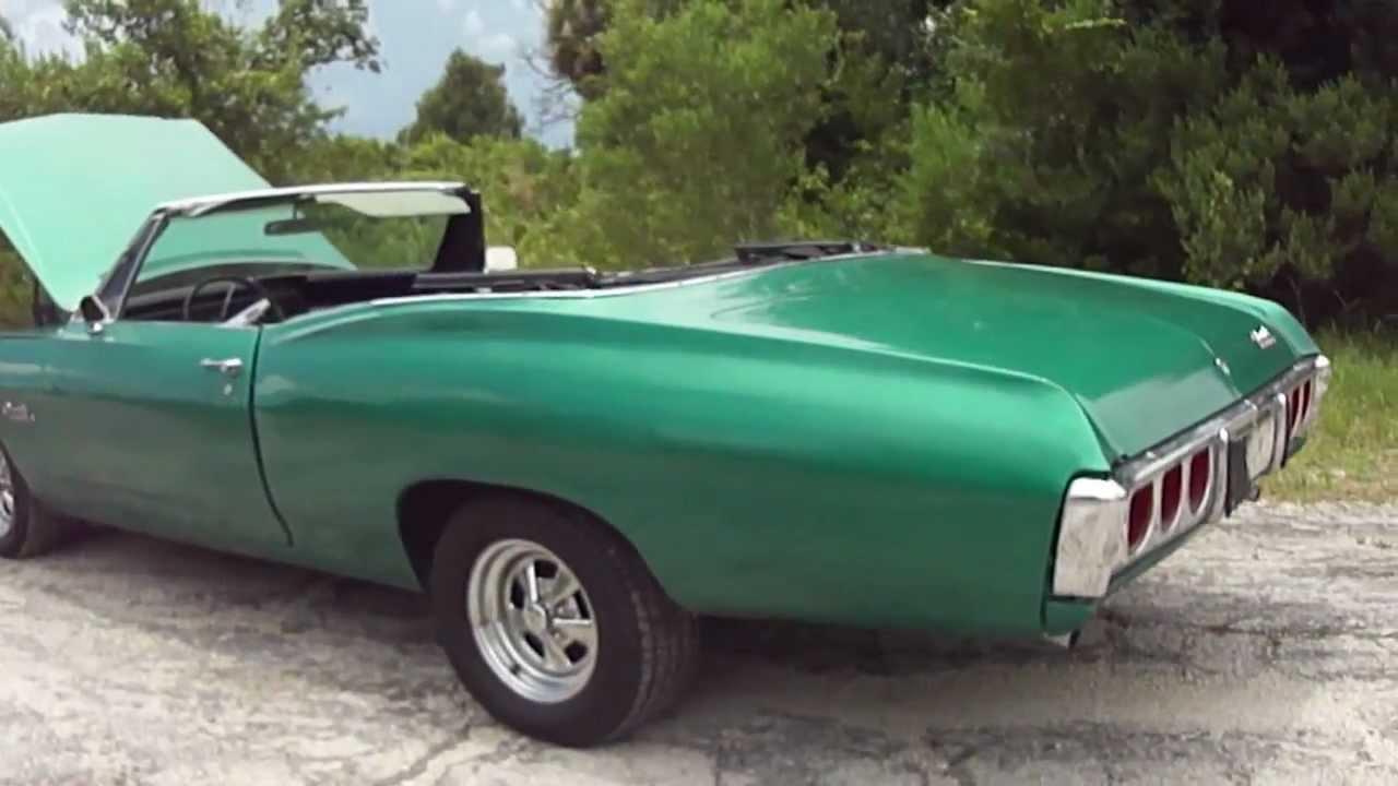 Impala 1968 chevy impala parts : 1968 CHEVROLET IMPALA CONVERTIBLE - YouTube