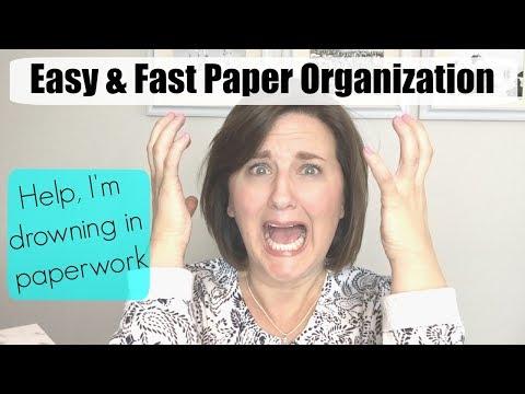Paper Organization Simplified