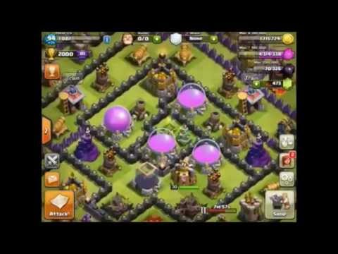 Clash Of Clans - Peter17$ BANNED - For Winning Clash Of Clans!!