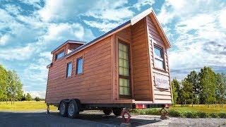 Holiday -Tiny House. Обзор дома на колесах (трейлер, караван, прицеп дача)