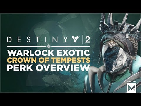 Destiny 2: Exotic Warlock Helmet 'Crown Of Tempests' Perk Overview And Gameplay