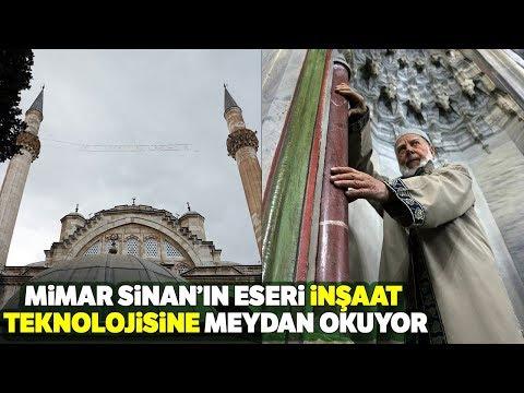 Mimar Sinan'ın Eseri İnşaat Teknolojisine Meydan Okuyor