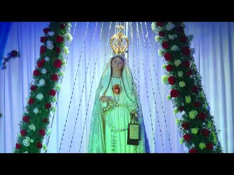Our Blessed Virgin Mary From Rome to Risen Christ Church, Peravallur. INDIA