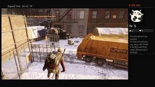 The Division, Part Fourty One, PS4 Live Broadcast, No Commentary, Walkthrough