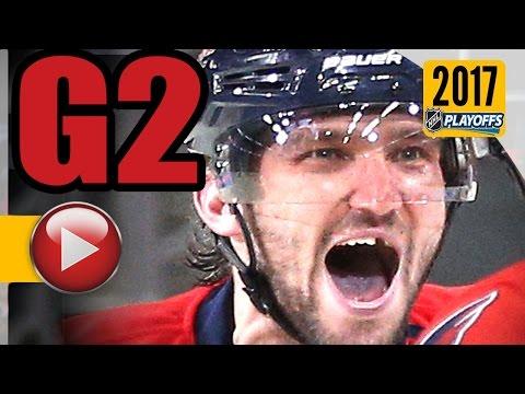 Pittsburgh Penguins vs Washington Capitals. 2017 NHL Playoffs. Round 2. Game 2. 04.29.2017 (HD)