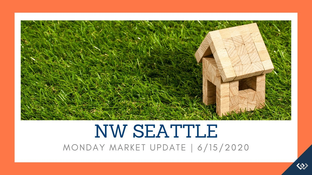 Monday NW Seattle Real Estate Market Update 📅June 15th, 2020