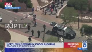 USA: At least 2 dead, several injured after shooting at San Bernardino school