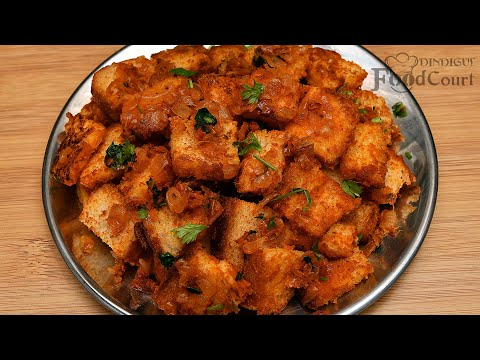 Bread Masala/ Quick Breakfast Recipe/ Bread Recipes