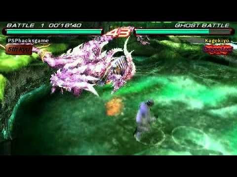 Tekken 6 Psp Azazel Gameplay W Cw Cheat Youtube