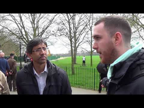 Why do you need to eat meat? shabir Yusuf  Speakers corner