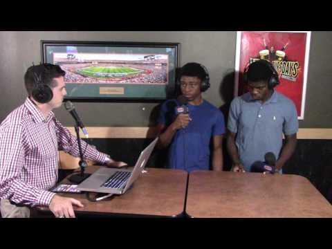 HSPN SPORTS MIDWEEK PRESSER - Jaguars TJ Baily & Jamareeye Brown Interviews