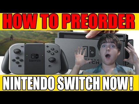 How To Pre-Order The Switch Even If It's Sold Out Everywhere!