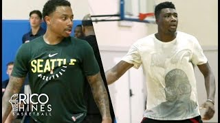 IsaiahThomas, Thomas Bryant, Bobby Brown + MORE at Rico Hines Private Run