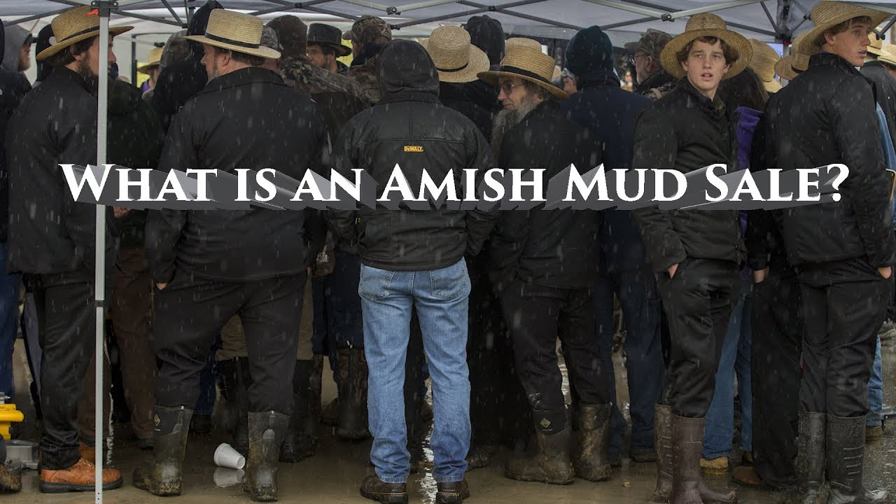 Amish mud sales 2019 schedule: Where, when, what's for sale