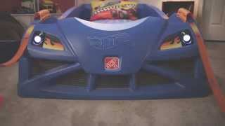 Step2 Hot Wheels™ Toddler-to-twin Race Car Bed™