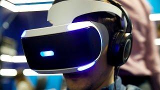 PS VR розпакування і огляд у Virtuality Club