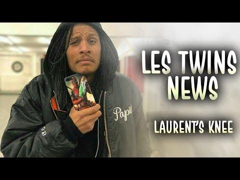 LES TWINS NEWS | LAURENT'S KNEE INJURY