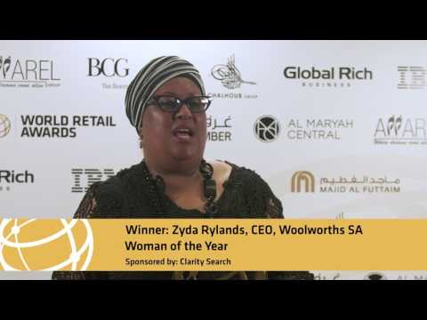 World Retail Awards 2017 -  Zyda Rylands | Woman of the Year