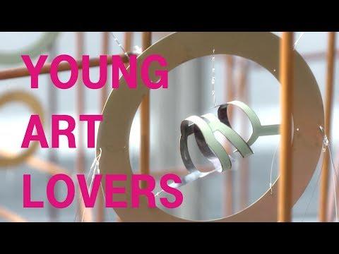Social Media Post: Kunst erlebbar machen - Young Art Lovers - Art Collection Telekom