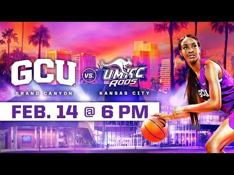 GCU Women's Basketball vs. UMKC Feb 14, 2019