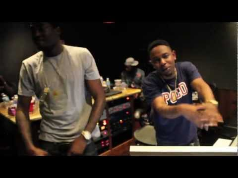 Meek Mill x Kendrick Lamar (DreamChasers2 Studio Session)