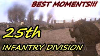 25th Infantry Division - Best Moments From January Deployment (Arma 3)