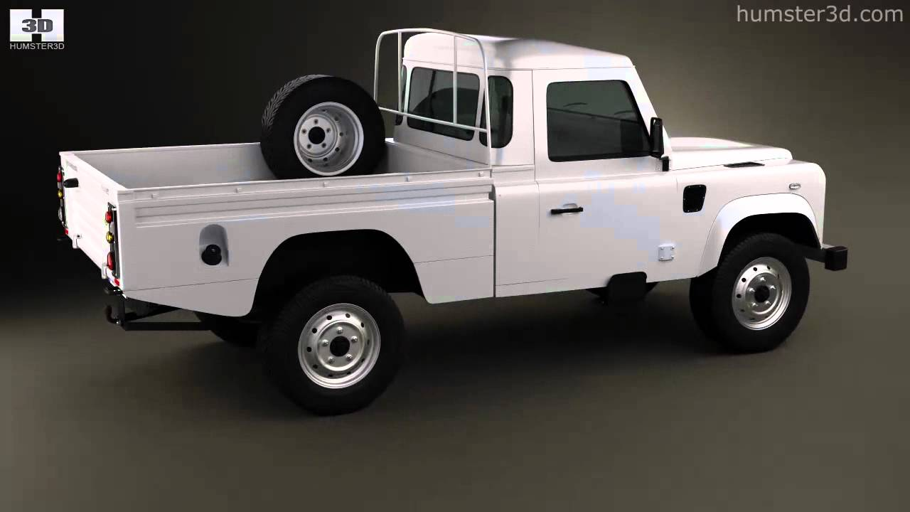 Land Rover Defender 110 High Capacity Pickup 2011 By 3d