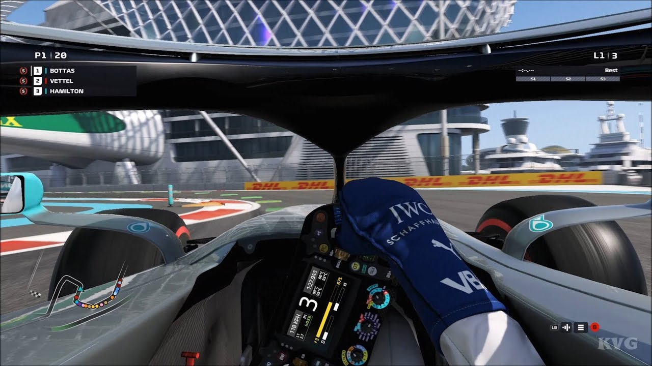 F1 2019 Cockpit View Gameplay Pc Hd 1080p60fps Youtube
