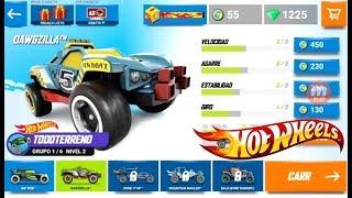 Saltos Hot Wheels Race Off