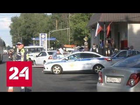 Напавшие на подмосковный пост ДПС чеченцы хотели захватить оружие полицейских