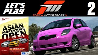 Let's Play Forza Motorsport 3 - Part 2 - Asian Open